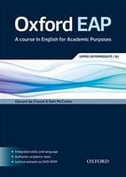 Підручник Oxford EAP B2 : Student's Book and DVD-ROM Pack