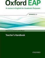 Підручник Oxford EAP C1 Teacher's Book, DVD and Audio CD Pack