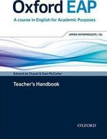 Підручник Oxford EAP Upper-Intermediate/B2 Teacher's Book, DVD and Audio CD Pack