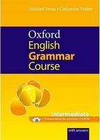Підручник Oxford English Grammar Course: Intermediate with Answers CD-ROM Pack