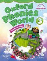 Підручник Oxford Phonics World 3 Student's Book with MultiROM