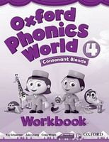 Підручник Oxford Phonics World 4 Workbook