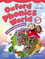 Підручник Oxford Phonics World 5 Student's Book with MultiROM