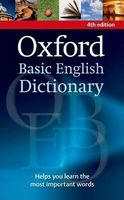 Словник Oxford Basic Dictionary of English Fourth Edition
