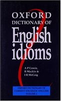 Словник Oxford Dictionary of English Idioms
