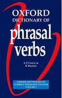 Словник Oxford Dictionary of Phrasal Verbs