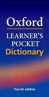Словник Oxford Learner's Pocket Dictionary Fourth edition