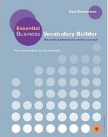 Підручник Essential Business Vocabulary  Builder Pk