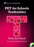 Підручник PET for Schools  Testbuilder Pk + Key