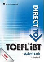 Підручник Direct to TOEFL ibt Student's Book & Webcode Pack
