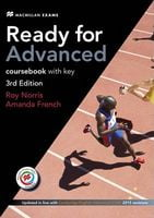 Підручник Ready for Advanced 3rd Edition Student's Book with Key & MPO (+SB audio) Pack