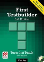 Підручник First Testbuilder 3rd edition with key Pk