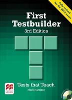 Підручник First Testbuilder 3rd edition without key Pk