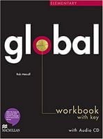 Підручник Global Elementary Workbook + CD with Key