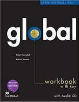 Підручник Global Upper Intermediate Workbook + CD with Key