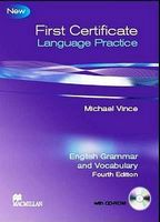 Підручник First Certificate Language Practice New Edition With  Key + CD-ROM