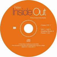 Диск для лазерних систем зчитування NEW INSIDE OUT Pre Intermediate Class Audio CDs (3)