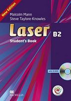 Підручник Laser B2 (3rd Edition) Student's Book + CD Rom + MPO