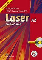 Підручник Laser A2 Student's Book + CD Rom + MPO