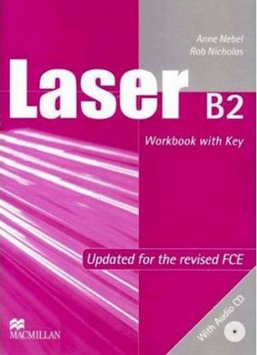 %D0%9F%D1%96%D0%B4%D1%80%D1%83%D1%87%D0%BD%D0%B8%D0%BA+Laser+B2+Workbook+with+key+%2B+CD - фото 1