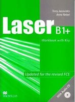 Підручник Laser B1+  Workbook with key + CD
