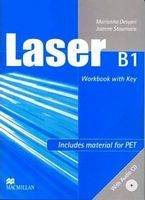 Підручник Laser B1 Workbook with key + CD