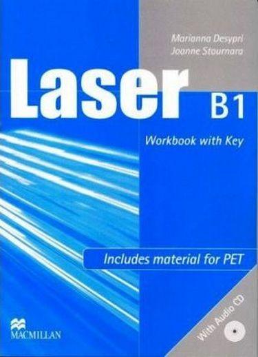 %D0%9F%D1%96%D0%B4%D1%80%D1%83%D1%87%D0%BD%D0%B8%D0%BA+Laser+B1+Workbook+with+key+%2B+CD - фото 1