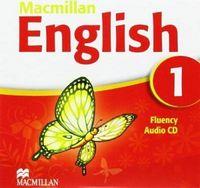 Диск для лазерних систем зчитування MACMILLAN ENGLISH 1 Fluency Book Audio CD