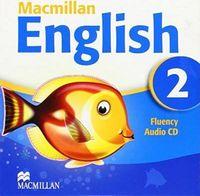 Диск для лазерних систем зчитування MACMILLAN ENGLISH 2 Fluency Book Audio CD