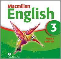 Диск для лазерних систем зчитування MACMILLAN ENGLISH 3 Fluency Book Audio CD