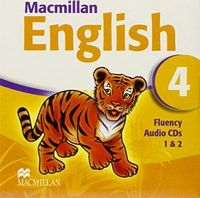 Диск для лазерних систем зчитування MACMILLAN ENGLISH 4 Fluency Book Audio CD  (2)