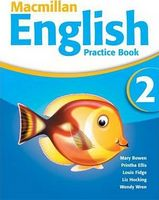 Підручник Macmillan English Level 2 Practice Book + CD ROM Pack