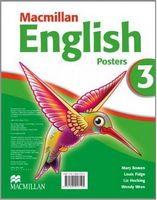 Плакати Macmillan English Level 3 Posters