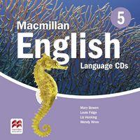 Диск для лазерних систем зчитування Macmillan English Level 5 Language Book CD