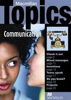 Підручник Macmillan Topics Pre-intermediate : Communication