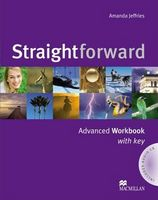 Підручник STRAIGHTFORWARD Advanced WB  (with Key) Pack