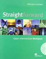 Підручник Straightforward Upp Int WB-key Pk