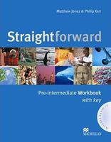 Підручник Straightforward pre-intermediate WB