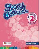 Підручник Story Central 2 TE Pack + eBook