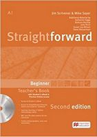 Пыдручник Straightforward 2nd  Beginner TB + eBook Pack