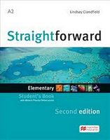 Підручник Straightforward 2nd Elementary Student's Book & Webcode + eBook
