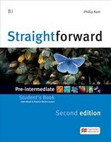 Підручник Straightforward 2nd Pre-inter SB & WEBCODE + eBook