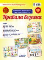 Комплект плакатів Правила безпеки