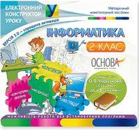 Інформатика. 2 клас (за підручником О. В. Коршунової) ВЕРСІЯ 3.0