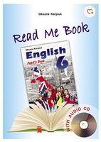 """Книга для читання до НМК """"""""English  - 6+аудіо CD"""