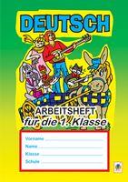 Deutsch Arbeitsheft fuer die 1. Klasse.(підручн. О.О. Паршикова, Г.М. Мельничук)(з голограмою)