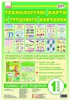 Трудове навчання  КАРТКИ  1 кл. (Укр) до альбома НОВА ПРОГРАМА