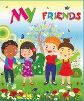 Лепбук My Friends/ Мої друзі  /англ мовою/