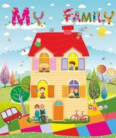Лепбук My Family/Моя сімя  /англ мовою/