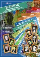 Набір плакатів для оформлення кабінету Біології. /10 плакатів  ф.А2 + 10 портретів ф.А3/